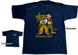 Bild von T-Shirt WHAT´S UP in Navy Blau von 2stoned