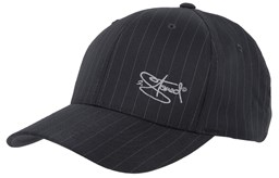 Bild von Original Flexfit Pinstripe in Dark Grey mit Stick Classic Logo