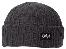 Bild von Original 2stoned Rib Beanie Cap Deluxe in Dark Grey